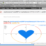 Draw Heart Shape in Google - Search Engine Fun
