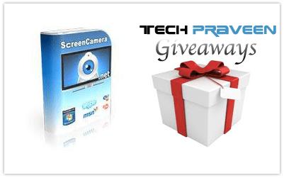 ScreenCamera.Net FREE Giveaway
