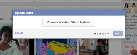 Upload Videos to Facebook