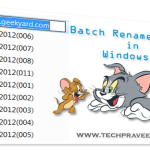 How to Batch Rename Files in One Shot in Windows?