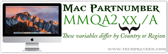 Mac Partnumber