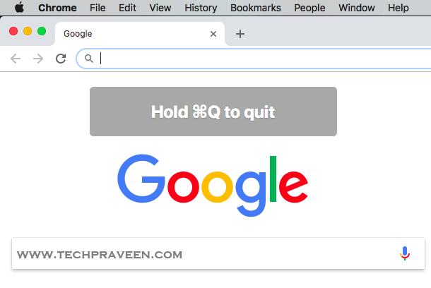 Command + Q not working in Google Chrome - Mac Fix