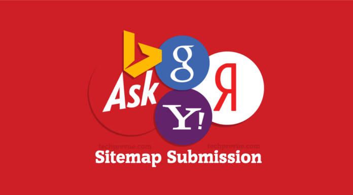 manual sitemap submission