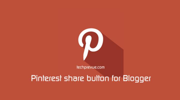 pinterest share button