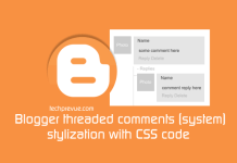 blogger comment style css