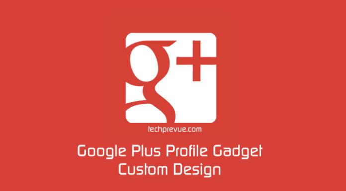 gplus custom widget