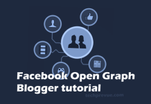 Facebook Open Graph for Blogger