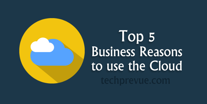 Business Reason to use Cloud
