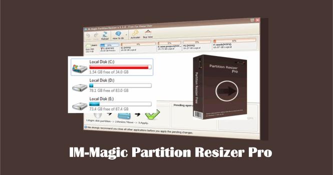 IM-Magic Partion Resizer Pro