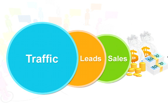 traffic leads sales