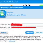data recovery iphone license code