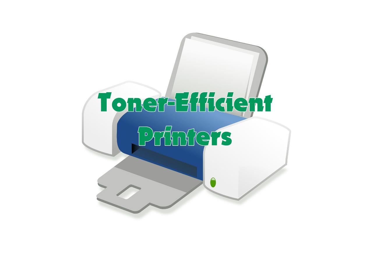 Toner efficient printers