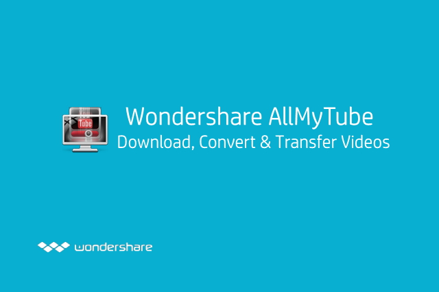 Wondershare AllmyTube Main Interface
