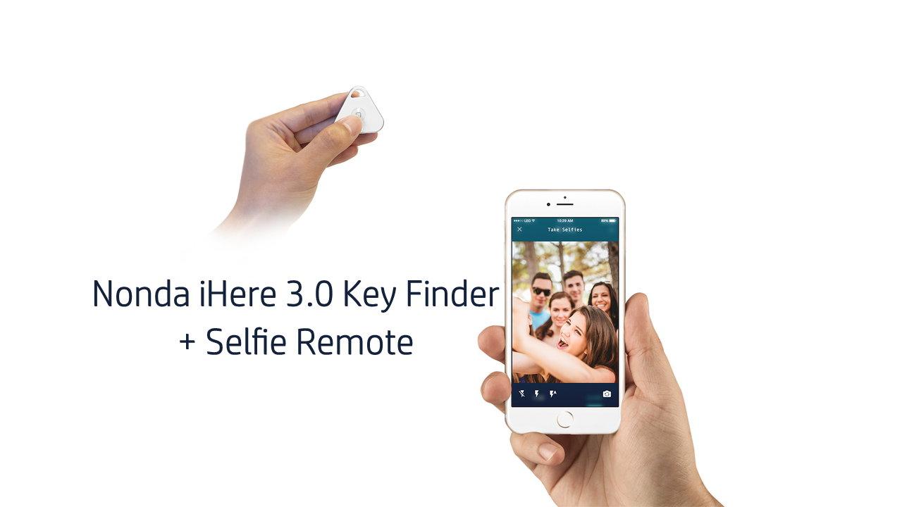 Nonda iHere 3.0 Key Finder + Selfie Remote