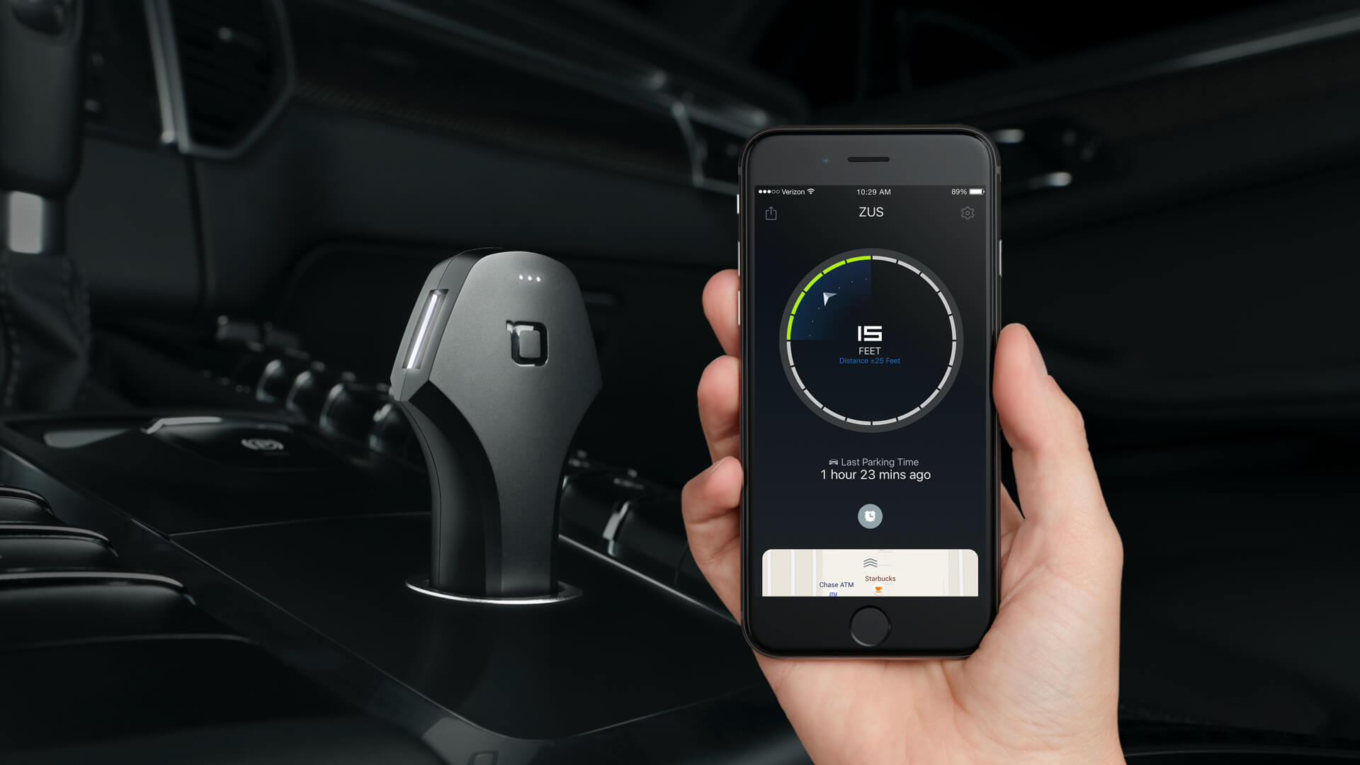 The Zus Smart Car Charger