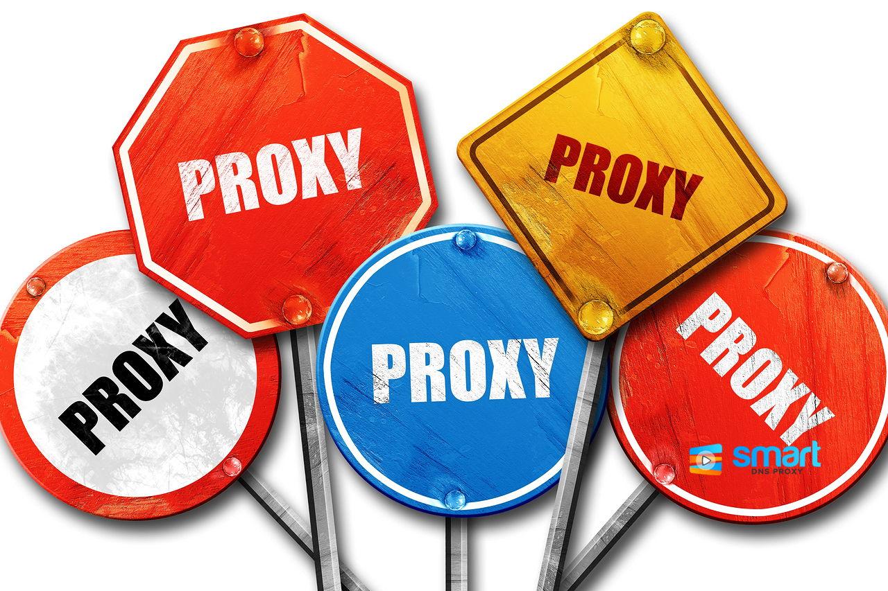 Smart DNS Proxy unblock websites