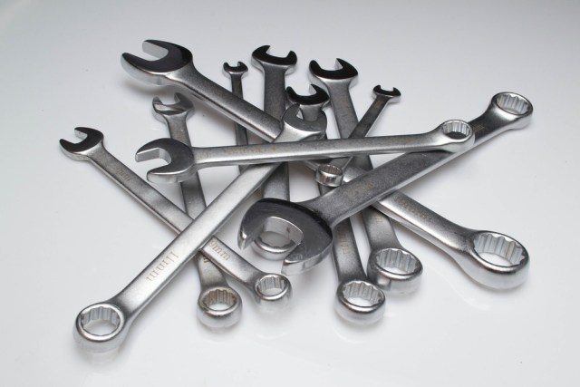 Car repair wrenches