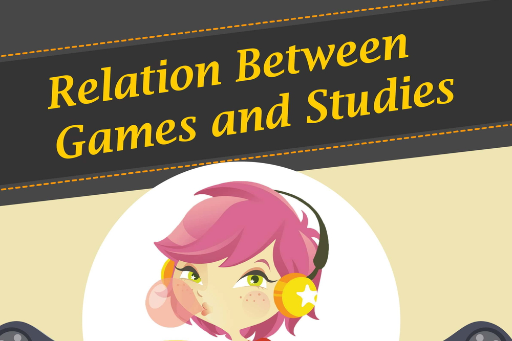 Games and study relation - education system