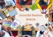 Successful business website