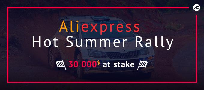 Aliexpress summer rally