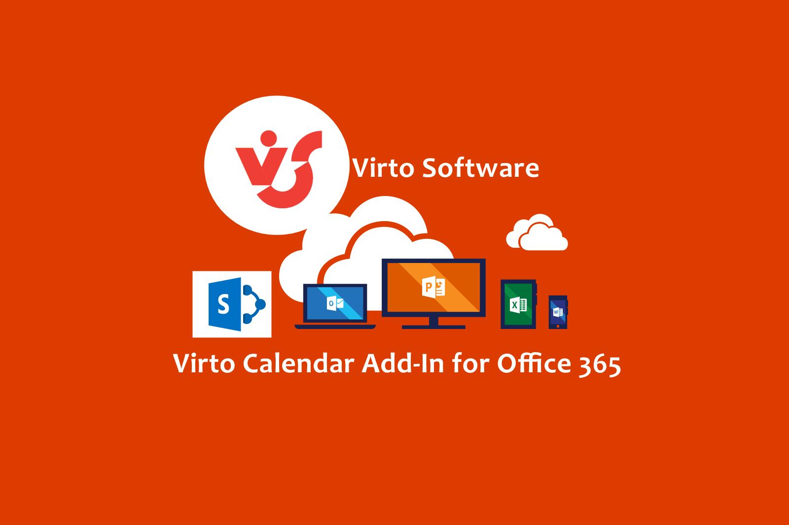 Virto calendar addin office 365