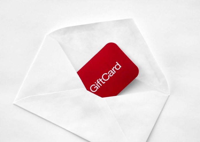 Gift cards for loved ones