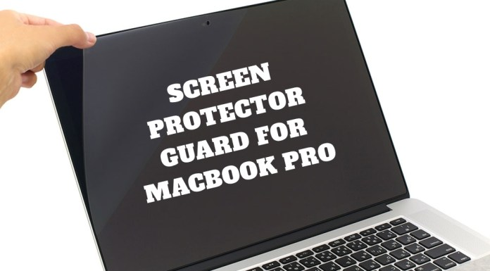 Screen guard for macbook pro, Screen protector for macbook pro