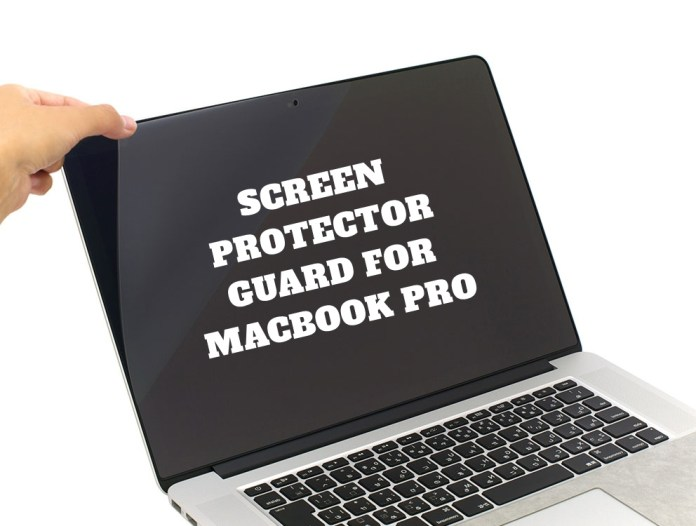 Screen guard for macbook pro