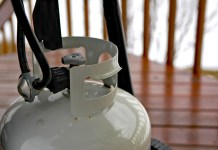 Care tips for propane tanks