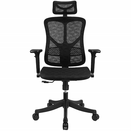 best back pain chair for office with back desk