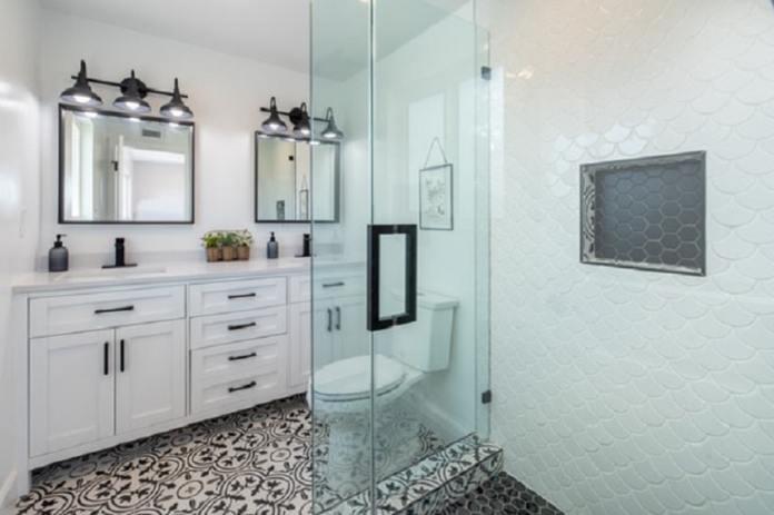 ideas of bathroom doors
