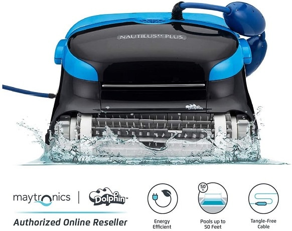 Dolphin automatic inground pool cleaner