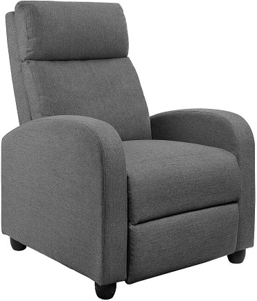 Best febric recliner sofa for back problem suffers