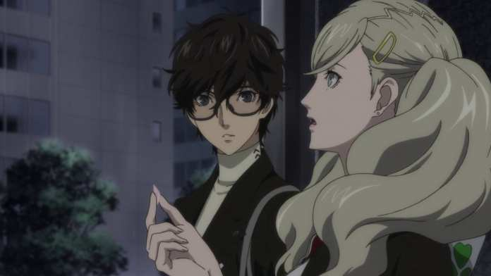 creencap from Persona 5 the Animation