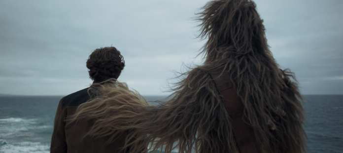 Han & Chewie (again) in Solo: A Star Wars Story