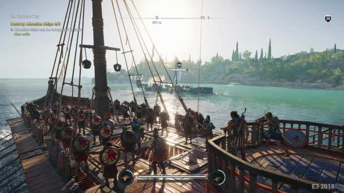 Assassin's Creed Odyssey will have naval exploration