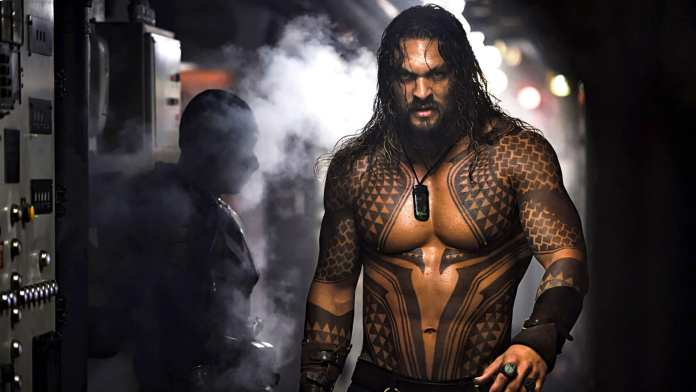 Jason Momoa's Arthur Curry/Aquaman