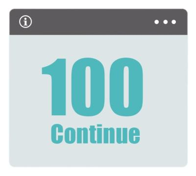 100 Continue HTML Status Codes
