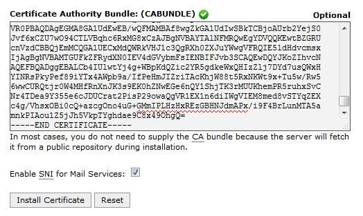 Certificate Authority Bundle CA Bundle