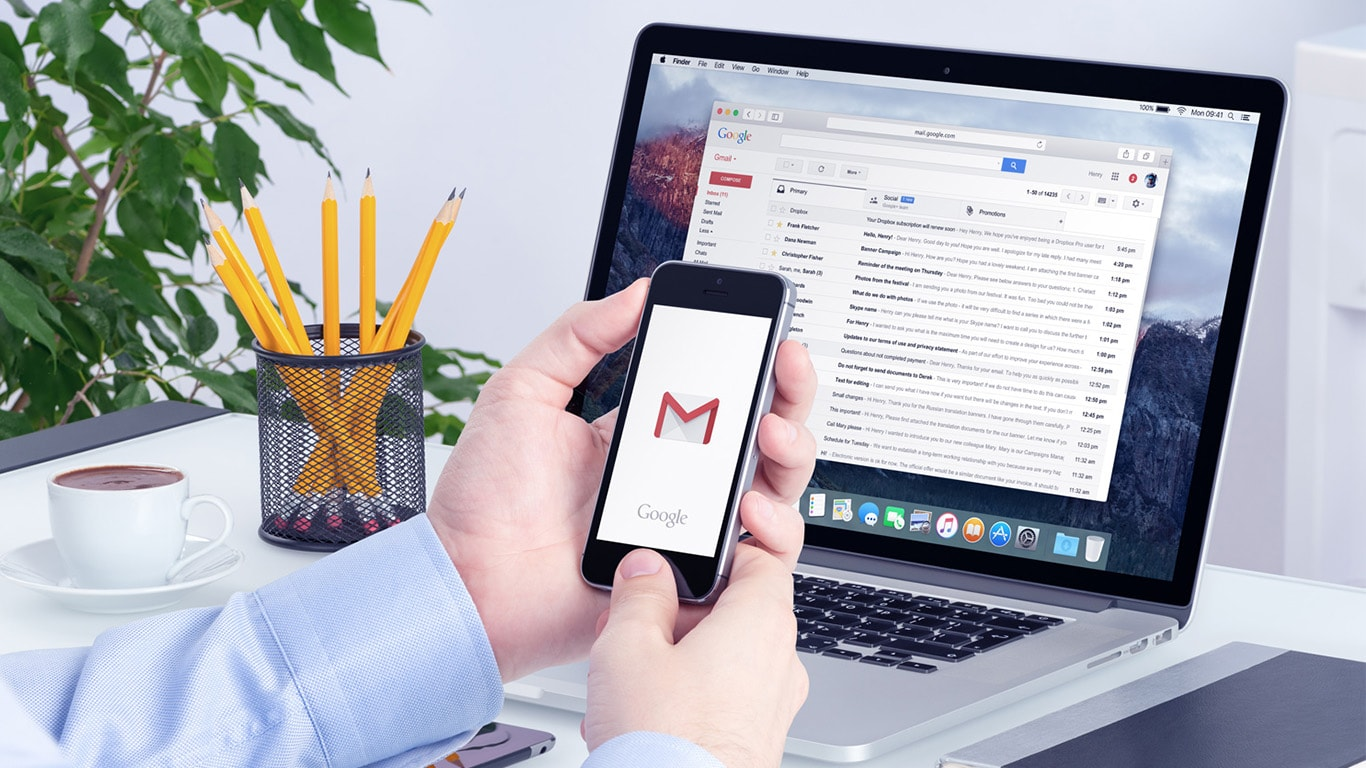 Change or Reset Gmail Password