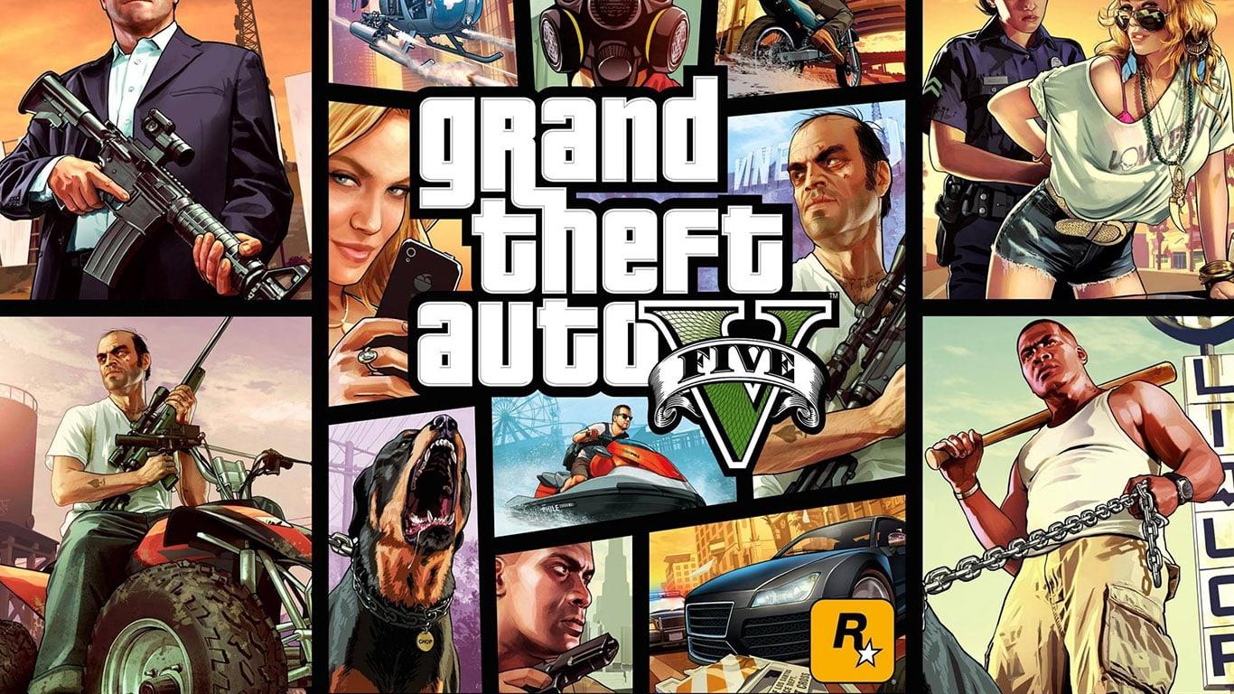 GTA 5 Playstation 4 Best Games