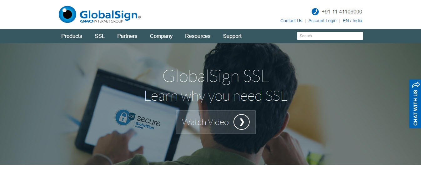 GlobalSign SSL Provider