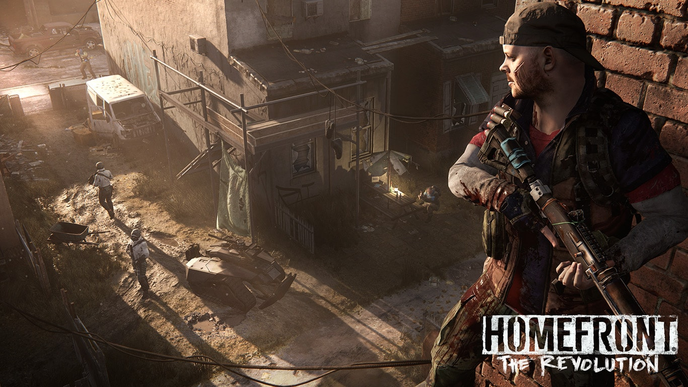 Homefront The Revolution Shooting Game for PC