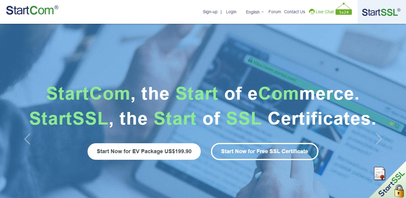 StartCom SSL