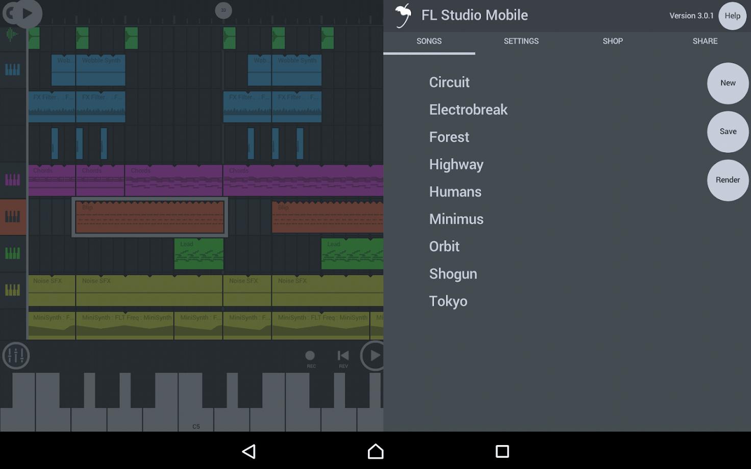 FL Studio Mobile 1