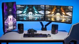 Samsung Releases Odyssey G3, Odyssey G5, and Odyssey G7
