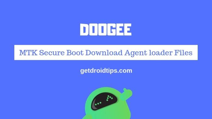 Download Doogee MTK Secure Boot Download Agent loader Files [MTK DA