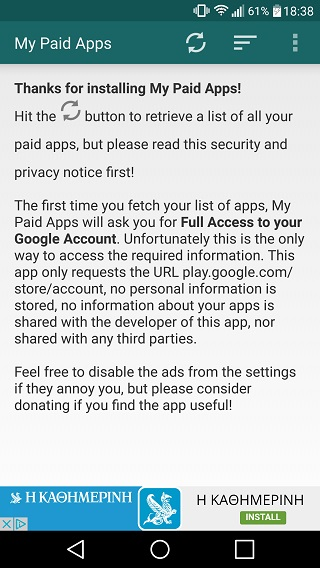 How to See All Purchased Apps in Google Play Store