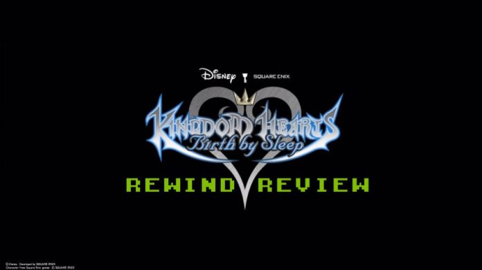 kingdom hearts birth by sleep rewind review header