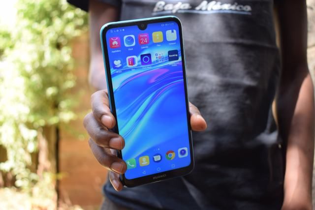 Huawei Y7 Prime 2019 display
